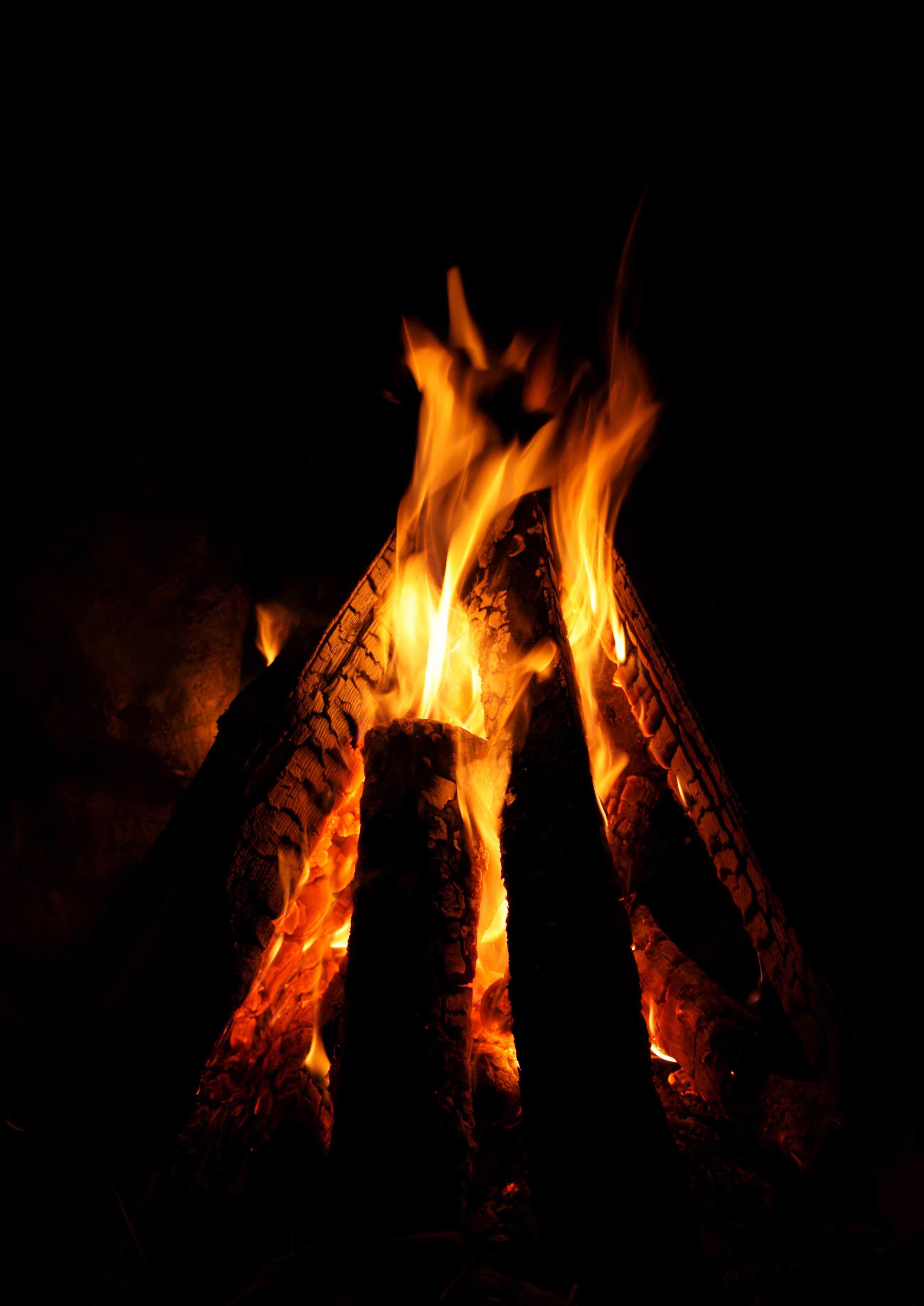Smoky Campfire